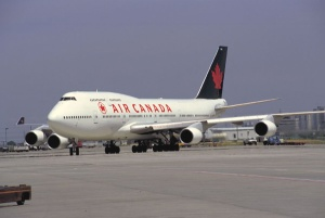 Air Canada flight: approach with caution