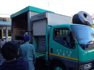 Earthquake truck